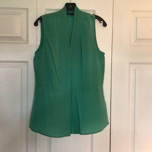 Rachel Zoe sleeveless 100% silk blouse